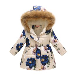 New Baby Girl And Boy Winter Coat Print Hooded Autumn Jacket Baby Outerwear 8bb004 Bright In Colour Mother & Kids Jackets & Coats