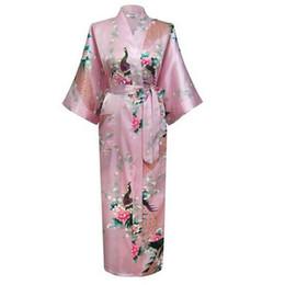 8f23e752a7 Sexy Chinese Kimono Robe Wedding Brides Night Gown Robes Lounge Sleepwear  Robe Bath Plus Size S M L XL XXL XXXL----RB00028 chinese wedding kimono on  sale