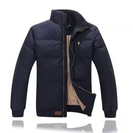 marchio di marca di polo Sconti Ralph Lauren Polo Men Giacche invernali Classic Luxury Jacket Mens Pony Marca Giù High End ricamo Pony Logo cappotto Outdoor Jacket Warm Top
