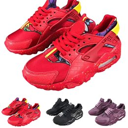 sneakers for cheap 38f16 4e787 Nike Air Huarache 2018 Air Huarache Säuglings-Laufen Designer-Schuhe Kinder  Sport Weiß Kinder Huaraches Huraches Hurache Trainer Baby Sneakers Größe  uns 28- ...