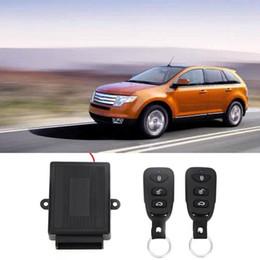 Fechaduras de porta de entrada remotas on-line-433.92 MHz Carro Kit Central de Bloqueio Da Porta de Bloqueio Remoto Sistema de Entrada sem chave Novo Com Controladores Remotos GGA261 50 PCS