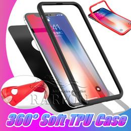 cas pour samsung galaxy mega Promotion Pour iPhone XS MAX Cases 360 Degrés Anti-Chocs Full Body Protection TPU Couverture Couverture 2 en 1 Etui Pour Samsung S10 E Plus