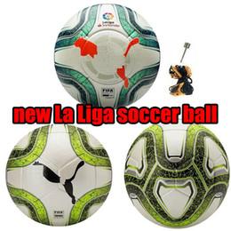 nuevos juegos de trenes Rebajas nuevo 2019 2020 la liga balones de fútbol Merlin ACC fútbol Partícula antideslizante juego de entrenamiento de entrenamiento 19 20 Balón de fútbol tamaño 5