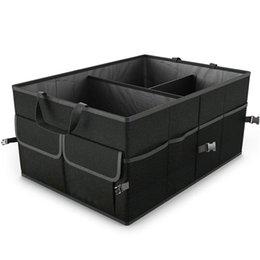 Funktionsorganisator online-Falten Auto Aufbewahrungsbox Kofferraum Organizer Tasche Platzsparende Multifunktions Oxford Stoff Protable Vorratsbehälter HHAA47