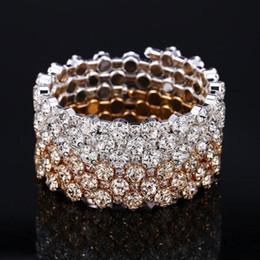 12 Fila Diamante Pedrería Stretch Plata bracelet@uk
