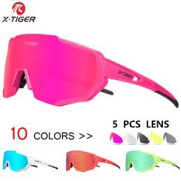 25ede909a1 X-tiger mujer 5 lentes polarizadas gafas de ciclismo bicicleta de carretera  gafas de sol gafas de sol mcb bicicleta ciclismo gafas goggle 2019