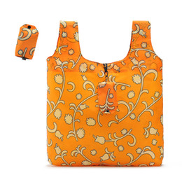 Sacchetto ecologico portatile ecologico portatile del supermercato del sacchetto della mano del sacchetto di immagazzinaggio in miniatura conveniente economico del bicchierino da