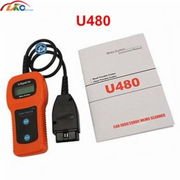 2019 obd2 puede bus código escáner Recientemente, el U480 funciona en todos los OBD2 OBDII CAN BUS del Lector de códigos de 1996 OBD2 Escáner de motor Herramienta de escáner de diagnóstico automotriz Envío gratis obd2 puede bus código escáner baratos