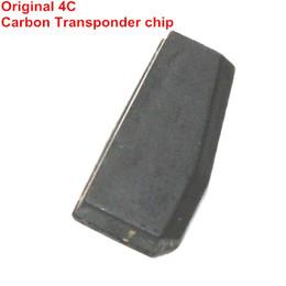 Deutschland Freies verschiffen Hohe Qualität 10 Teile / los Blank ID4C Chip Keramik 4C Transponder Chip ID4C Fernautoschlüssel Für Ford Für Toyota Versorgung