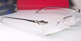 2019 goldene brücke sonnenbrille Vintage Optical Randlos Männer Brille Brillenrahmen Brillen Sonnenbrille Designer-Sonnenbrille New wth Box