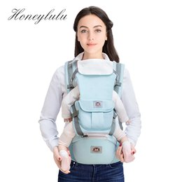 d546d01cc9f hip sling baby carriers Promo Codes - Honeylulu Combined Detachable  Backplane Baby Carrier Multifunction Sling For
