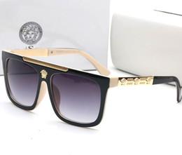 2019 lente ultravioleta Clássico marca óculos de sol de alta qualidade anti-lentes ultravioleta óculos de sol de luxo homens mulheres marca de moda óculos de sol com caixas de presente lente ultravioleta barato