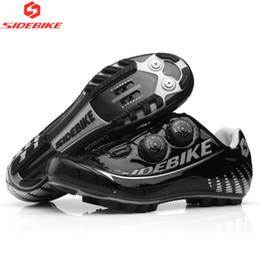 2019 zapatillas de ciclismo nuevas 2019Sidebike New Carbon MTB Bike Shoes Auto-lock Zapatillas de ciclismo ultraligeras Mountain Bike Athletic Riding rebajas zapatillas de ciclismo nuevas