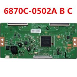 Lógica de tv on-line-Placa lógica original 6870C-0502A 6870C-0502B 6870C-0502C para TV LCD de 42 polegadas e 49 polegadas e 55 polegadas e teste de 100% é bom