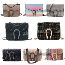 cab4cb85fb Top Luxury Designer Crossbody Bags Fashion Women Shoulder Bag Chain  Messenger Bag Leather Ladies Handbags Totes Purses Multiple Styles discount gucci  bags