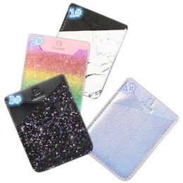 Deutschland Brieftasche Aufkleber Kartenhalter für die Rückseite des Telefons Kredit ID Karte Bargeld Tasche Aufkleber Adhesive Holder Pouch Handy 3M Gadget Universal OPP Versorgung