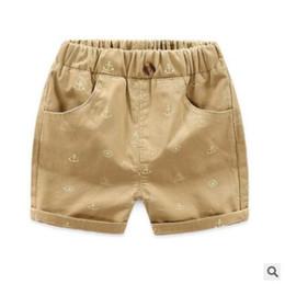 2019 i vestiti del bambino si attaccano Pantaloncini per bambini 2019 Bambini estivi Pantaloncini casual in cotone per ragazzi Pantaloncini vita elasticizzata Pantaloncini da spiaggia Pantaloni corti sportivi Abbigliamento bambino i vestiti del bambino si attaccano economici