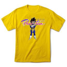 Ursprünglicher Drache-Ball Z der Männer des Drachen-Ball-Z kurzes Hülsen-T-Shirt Gelb t Männer Frauen Unisexart und weiset-shirt Freies Verschiffen von Fabrikanten