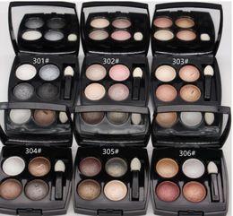 paleta de sombras de ojos color burdeos Rebajas ¡Envío gratis! 2019 Nuevas llegadas hot Makeup Eyes Mineralize 4 Colors Eye shadow Palette! 2g (1pcs / lot)