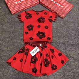 2019 willkommene mädchen Frühling, Herbst und Sommer Neue Kinder Rock Baumwolle Mädchen Anzug in europäischen und amerikanischen Stil, Willkommen bei Buy günstig willkommene mädchen