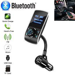 2019 mini rádio usb remoto Transmissor FM para carro sem fio Adaptador de rádio Chamadas com as mãos livres com microfone embutido Concellation de ruído sem fio MP3 Player