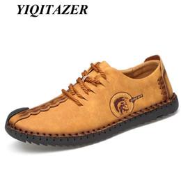 YIQITAZER 2019 Chegada Nova Nubuck Couro Sapatos Homem, Lace Moda Verão Vestido Sapatos Masculinos Amarelo Preto Plus Size 45 46 de