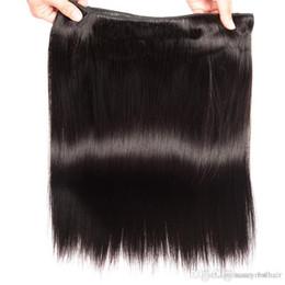 Sınıf 6A-Düz dalga saç dokuma 50 g / paket 4 paketler, 100% remy İnsan saç doğal renk, ücretsiz arapsaçı dökülme cheap grade 6a human hair weave nereden derece 6a insan saçı örgü tedarikçiler