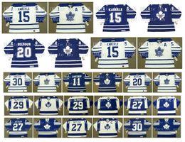 ed belfour jersey Sconti Vintage Toronto Maple Leafs Jersey 29 MIKE PALMATEER 27 DARRYL SITTLER 30 TERRY SAWCHUK 11 MIKE GARTNER 20 ED BELFOUR TOMAS KABERLE Hockey