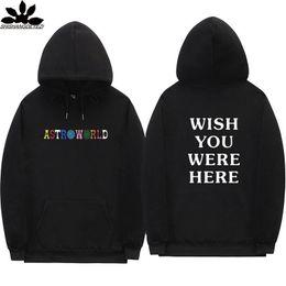 hoodie do estilo do assassino dos homens Desconto Travis Scott Astroworld hoodies carta de moda de impressão Hoodie streetwear Homem e mulher suéter