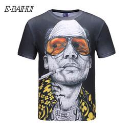 184b8f7841 E-BAIHUI New 3D Print T shirt Popular Style T-shirt Bar Theme Hip Hop Tops  Funny Short Sleeve Men Clothing Couple Tees T-326