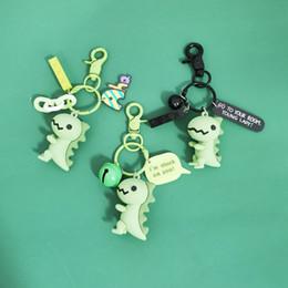 2019 meninas coreanas animais 3 estilos criativa dos desenhos animados pequeno bonito Key Dinosaur Cadeia cinco centímetros celebridades presente Meninas Gota cola animal coreano Moda Chaveiro L378 desconto meninas coreanas animais