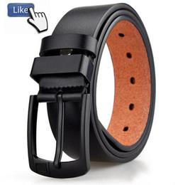 Argentina 2019 Cinturones de diseñador de moda caliente hombres Cinturón de cuero de pu de alta calidad Pin de metal hebilla lisa cinturones de jeans sólidos para hombres y mujeres Suministro