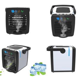 Refrigerador De Ar Pequenos Aparelhos De Ar Condicionado Mini Ventiladores De Ar De Refrigeração Ventilador De Verão Portátil Condicionador Para Home Office de Fornecedores de fãs por atacado do bebê