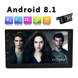 2019 двойной дин с сенсорным экраном стерео Android 8.1 Car Radio Double 2 Din Car Stereo окт Ядро 2G + 32GB 7
