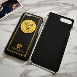 iphone rojo negro funda silicona Rebajas Diseño Funda de teléfono para iPhoneX Xs XSmax XR iPhone7 / 8plus iPhone7 / 8 iPhone6 / 6s iPhone6 / 6sP Marca de teléfono de marca de lujo fresca de lujo al por mayor