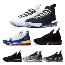 new style 3704e cecb8 2019 neue Lebron 16 Basketball-Schuhe Ankunft Sneakers Lebron 16 LBJ16  Herren Casual King James Multicolor Sportschuhe LBJ EUR 40-46
