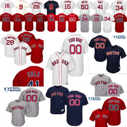 843c013ee customized baseball jerseys Coupons - Customized 2019 Red Sox Baseball  Jersey personalized custom any name number