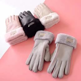 Elegant Damen Nappa Leder Fingerlose fahren Riding Handschuhe für Kunst Neu Heiß