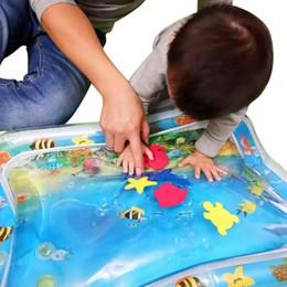 2019 dupla estimulação Almofada criativo bebê inflável afagou Pad dupla Use Crianças Brinquedos Água Para sensoriais de estimulação Habilidades Motoras desconto dupla estimulação