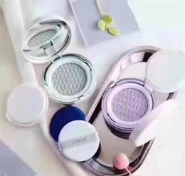 grünes make-up Rabatt Laneige Haut Schleier Basis Luftkissen BB Concealer Hellgrün Lila 2 Farben Make-Up Kosmetik Korea Maquillage Kostenloser versand