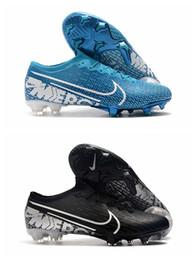 Sapatos de futebol de vapores on-line-2019 sapatos de futebol dos homens mercurial vapores xiii elite fg chuteiras de futebol mercurial superfly 360 botas de futebol ao ar livre botas de futbol