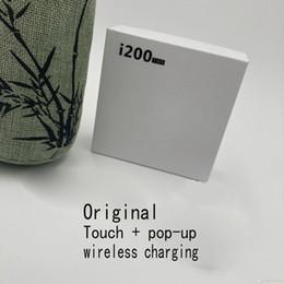 2019 teléfono con chip de oreja i200 tws Top Pop-up Chip de carga inalámbrica Bluetooth 5.0 3D Auriculares para auriculares PK i70 i80 i90 i12 TWS Auriculares Airdots Auriculares Bajo