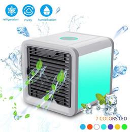 Portable climatisé en Ligne-Refroidisseur d'air Petits climatiseurs Mini-ventilateurs Climatiseur portatif pour voiture d'été