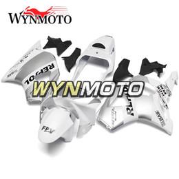 Repsol argento bianco online-Carene complete per moto Honda CBR900RR 954 2002 2003 CBR900 RR 954 02-03 Iniezione Carrozzeria plastica ABS Repsol Silver White Cowlings