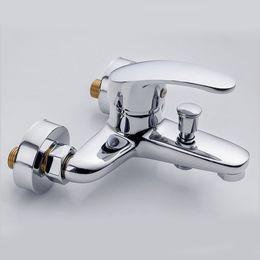 válvula de chuveiro ocultada Desconto Válvula de mistura escondida quente e fria do torneira do chuveiro da banheira do chuveiro do Multi-triplo