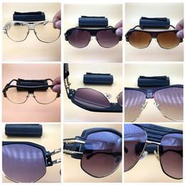891b54773a9 cadres de lunettes de chat vintage Promotion 2019 Marque Fashion Sungasses  Designer De Luxe Surdimensionné Oeil