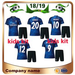 2019 uniformes deportivos para niños Kit de niños del Real Madrid 2019  edición especial Soccer Jersey 6a82d0083064b
