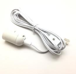 enchufes de banana de cobre Rebajas Cables de lámpara IQ Lámpara de araña Alambre Pantalla Cable de alimentación Cable de alimentación Cable de alimentación 110V para Europa y América UL 12 pies