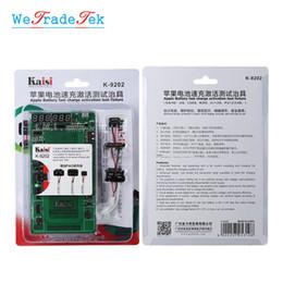Circuito di carica della batteria online-Dispositivo di prova di attivazione ricarica batteria per iPhone X 8 6S iPad 3 4 5 6 Cavo di prova corrente circuito aria compressa 2 1 Air 2