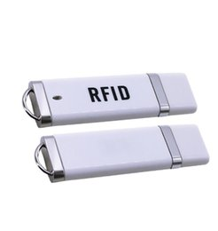 ic smart reader Coupons - 10sets Mini OTG USB HF Reader Contactless IC 13.56Mhz NFC Micro RFID USB Card Reader USB port Without Driver Fit For ISO14443A S50 S70 DHL